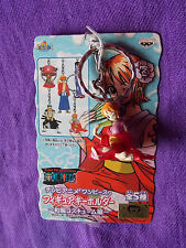 "NEW! ONE PIECE NAMI KIMONO Keyring / 1.2"" 3cm PVC SOLID FIGURE / UK DESPATCH"