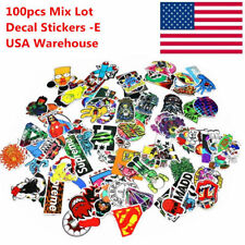 100pcs JDM Cartoon Waterproof Bomb Graffiti Decal Sticker for Car Motor US Stock