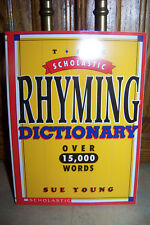 NEW Softcover Scholastic Poetry/Rhyming Dictionary - Over 15,000 Words!