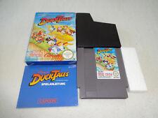 Duck Tales NES Spiel komplett mit OVP und Anleitung