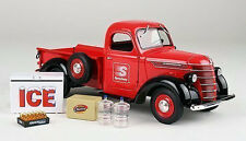 First Gear 1938 Int. D-2 Red/Black Pickup Truck Speedway Llc 1/25 #49-0365