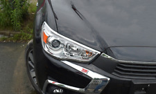 Front Head Light Lamp Cover Trim for Mitsubishi ASX RVR Outlander Sport 10-17