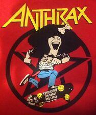 Anthrax Gilda'S Club St. Vitus Brooklyn Benefit Event 9/16 Shirt 2X Xxl Radner