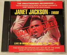 JANET JACKSON - CD - THROB - LIVE - AUSSIE