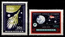Sonda sovietica Luna Luna - 3. 2w. Mongolia 1959