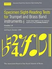 ABRSM: Specimen Sight-Reading Tests for Trumpet/Brass Ban... AB8555