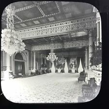 Antique Magic Lantern Glass Slide Photo East Room The White House USA