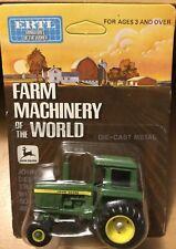 John Deere Farm Machinery of the World Tractor w Sound Guard Body 1/64 by Ertl