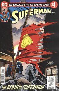 Dollar Comics Superman #75 NM 2019 Stock Image