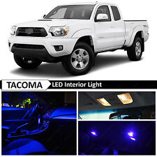 9x Blue Interior LED Light Package Kit for 2005-2015 Toyota Tacoma
