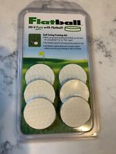 GOLF Flatball Swing Golf Training Aid , Flexible RUBBER, New In Package
