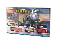 "HO Chattanooga Model Train Set Ready To Run 47"" x 38"" oval"