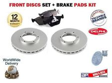 FOR HONDA FIT 1.3 GD1 SERIES 2002 NEW FRONT BRAKE DISCS SET + PADS KIT