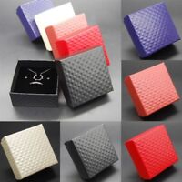 NEW Wholesale Jewelry Gift Paper Boxes Ring Earring Necklace Watch Bracelet Box