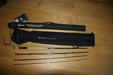 Flextec CRX88 Trout Fly Fishing Rod  4 piece 9ft AFTM 7/8 Hard Cordura Case