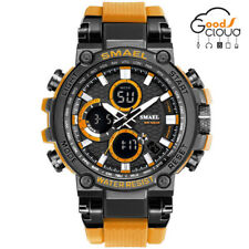 SMAEL Men Outdoor Sports Waterproof Digital Military Quartz Calendar Wrist Watch