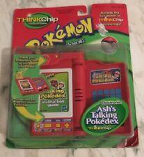 Ash's Talking Pokedex, Pokemon Electronic Thinkchip By Hasbro - Factory Sealed!