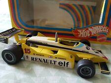 Hot Wheels Renault RE30 F1 Car - Box Super Rare