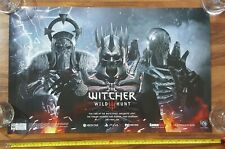 The Witcher III Wild Hunt Pre-Order Promo Poster 2015