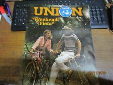 Plakat poster affiche Union Weekend Fiets Sapporo Nagoya Shiba Kyoto Hokkaido