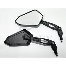 Universal Motorrad Lenkerspiegel Mirrow BOOSTER schwarz M10 Paar E-geprüft