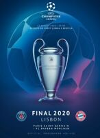 CHAMPIONS LEAGUE FINAL 2020 BAYERN v PSG OFFICIAL MATCH PROGRAMME!