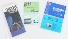 Ricoh Literature Group Of 5