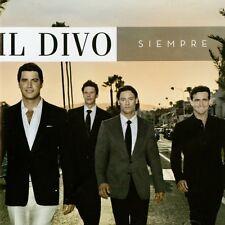 IL DIVO - SIEMPRE -  CD ALBUM (AS NEW)
