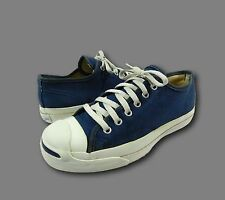 Vintage JACK PURCELL USA CONVERSE Navy Blue Canvas Athletic Low Top Sneakers