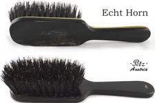 Petz Hornbürste 8-reihig Straight Horndeckel Dark Wild Boar Bristles Hair Brush