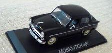 1/43 Romanian Moskvitch 407 Black DeAgostini Romania Bucharesti