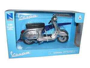 Vespa 125 ET3 Primavera 1/12 Scale Silver Diecast Scooter Model NewRay