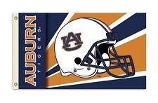 New NWT NCAA Auburn Tigers 3 x 5 Foot Helmet BSI Premium Flag With Grommets