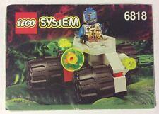LEGO 6818 Notice de Montage Instruction Booklet 1997 Cyborg Scout