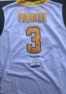 Candace Parker Signed Autographed Tennessee Jersey Beckett Bas Coa WNBA