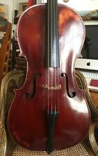 Old Cello with French label JB VUILLAUME 1844 excellent playing condition