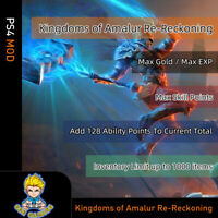 Kingdoms of Amalur: Reckoning (PS4 Mod)-Max Gold/Skill Points/EXP/Ability Points