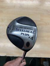 Callaway BIG BERTHA STEELHEAD Plus 4 Wood Steel Shaft