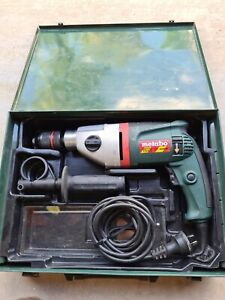 Hammer Drill Electric 750W Metabo 2 Speed UT 4000E