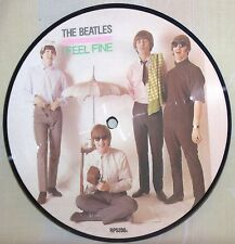 "The Beatles-7""Picture Disc-EMI Records ""I Feel Fine/She's A Woman""-Near Mint"