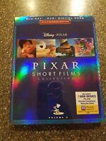 Disney Pixar SHORT FILMS COLLECTION Vol 3 Blu-Ray DVD Digital Code Slipcover NEW