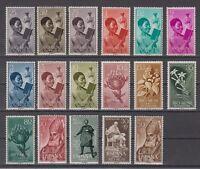 SPAIN - RIO MUNI - YEAR 1960 MNH COMPLETE - EDIFIL 1/17
