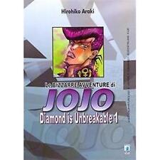 LE BIZZARRE AVVENTURE DI JOJO - DIAMOND IS UNBREAKABLE 1 DI 12 STAR COMICS NUOVO