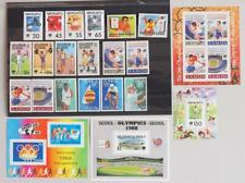 PACIFIC 1988 OLYMPICS, Cpl. XF MNH** Collection, Vanuatu Tonga Solomon Samoa