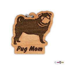 Pug Mom Keychain key chain keys charm
