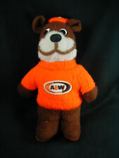 """VINTAGE 1970's A&W ROOT BEER """"ROOTY"""" PLUSH BEAR- TEDDY BEAR"""