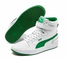Puma Sky Lx Mid Athletic Men's 10 White Basketball Inspired Sneakers Shoes