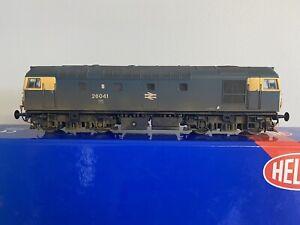 Heljan OO Gauge Class 26041 BR Blue Livery Working West Highland Headlights