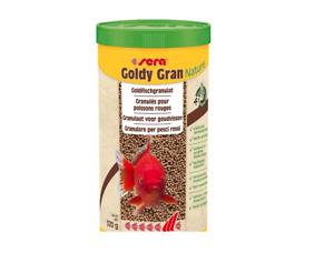 Sera 320g Goldy Gran Nature Goldfish Granules Fish Food 1L Ornamental Aquarium