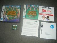 Animal Crossing: Wild World (Nintendo DS) Lite Dsi xl 2ds 3ds xl